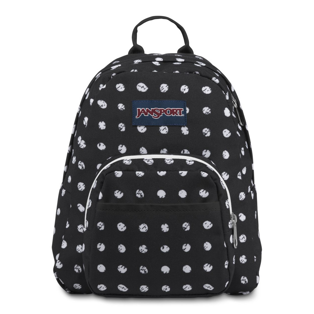 Half Pint Mini Backpack Black Sketch Dot