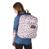 Big Student Backpack Watermelon Rain