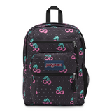 Big Student Backpack Neon Cherries
