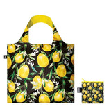 Juicy & Wild Lemons Foldable Bag with Zip Pouch