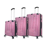 Macchiolina Polish 3 Piece luggage Set