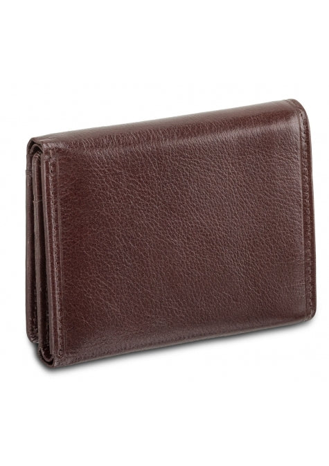 Equestrian 2 RFID Secure Trifold Wing Wallet Brown