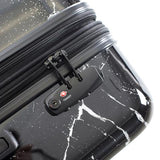 Marquina Spinner Carry-On Black Marble Fashion 21