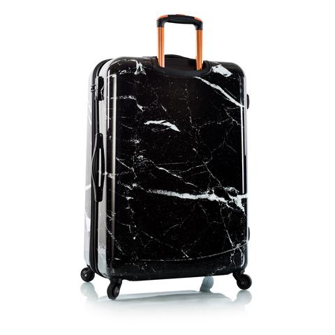 Marquina Spinner Large Black Marble Fashion 30""