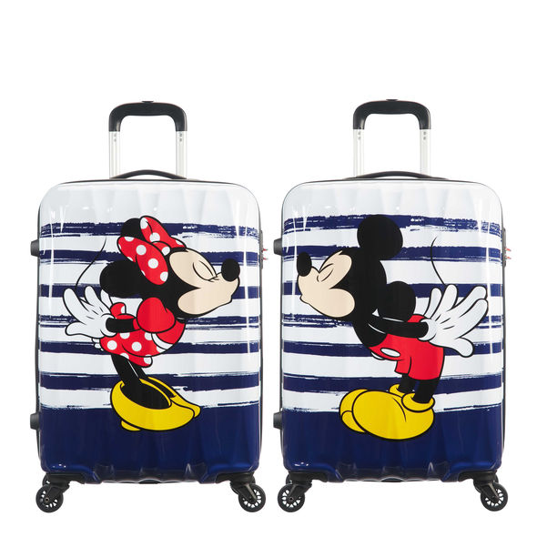 "DISNEY LEGENDS MINNIE 19"" SPINNER CARRY-ON"