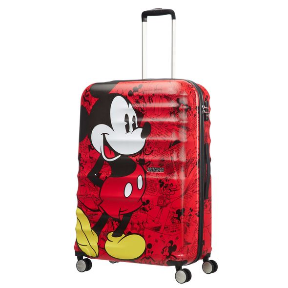 "WAVEBREAKER-DISNEY MICKY RED 28"" SPINNER LARGE"