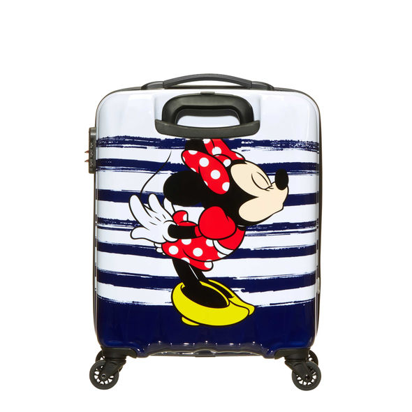 "DISNEY LEGENDS MICKEY 19"" SPINNER CARRY-ON"