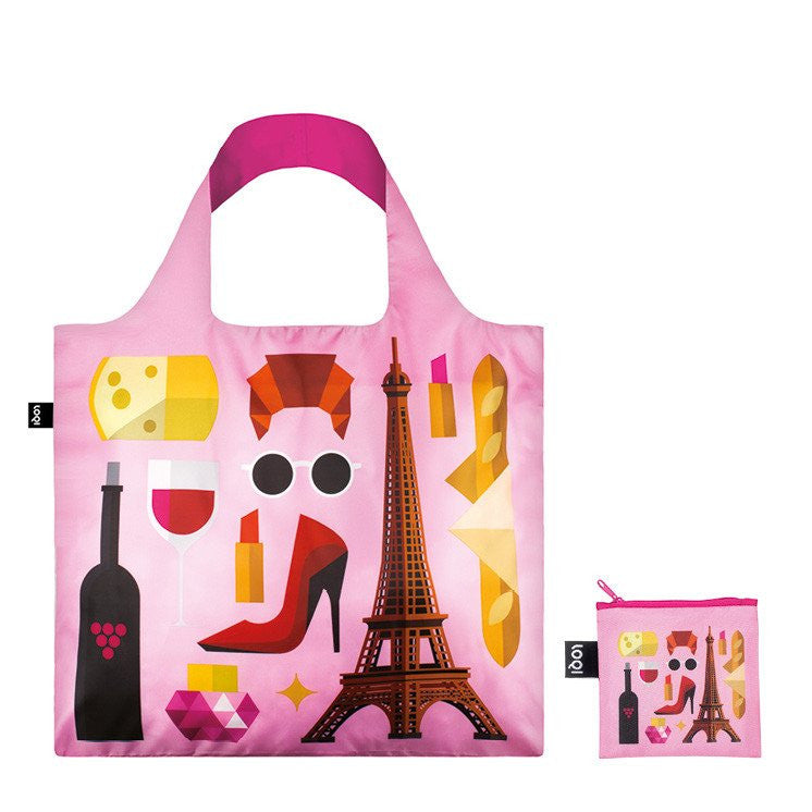 Hey Studio Paris Foldable Bag with Zip Pouch