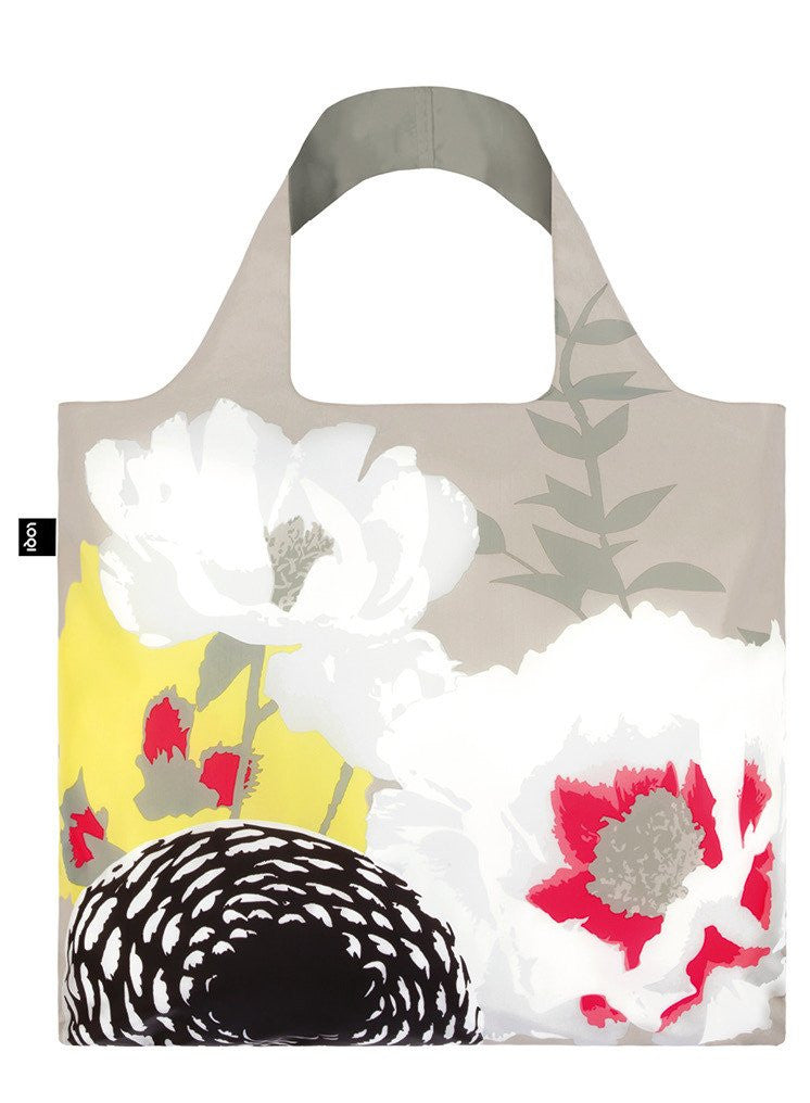Prima Dahlia Foldable Bag with Zip Pouch
