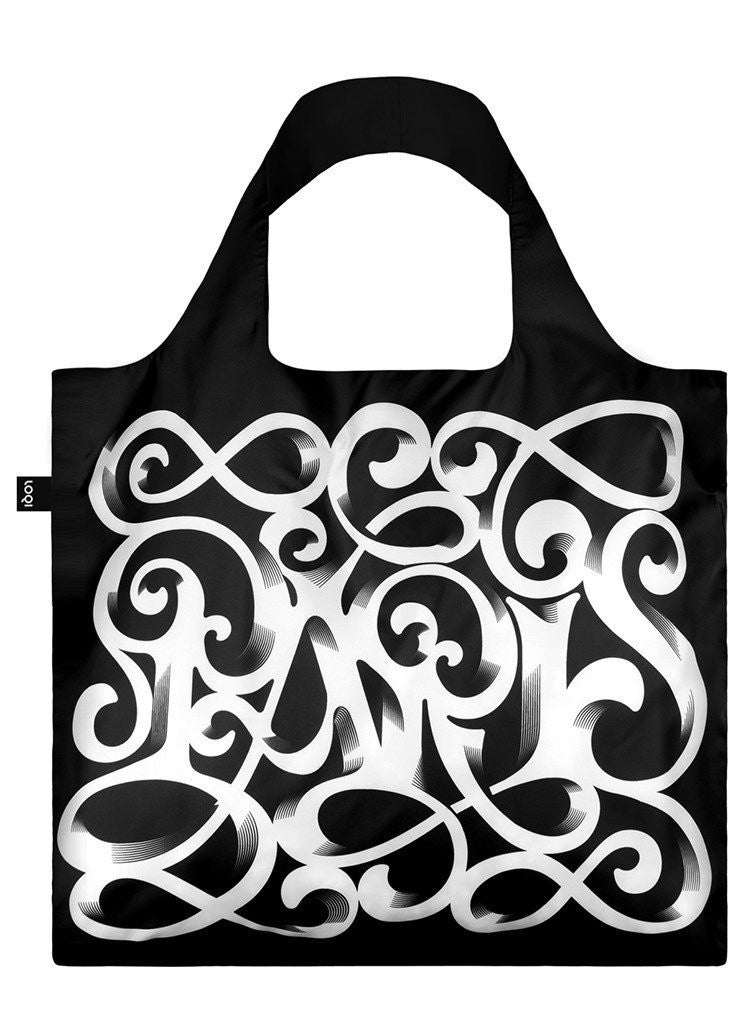 Artists Sagmeister & Walsh Paris Art Deco Foldable Bag with Zip Pouch