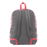 SuperBreak Backpack Diamond Plumeria Pink