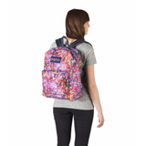 SuperBreak Backpack Multi Flower Explosion
