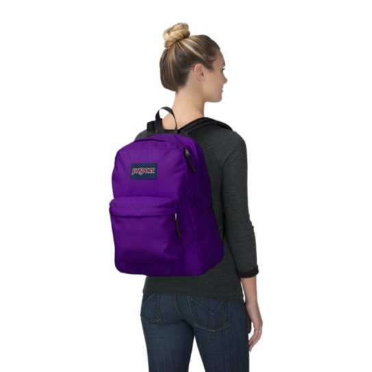SuperBreak Backpack Signature Purple