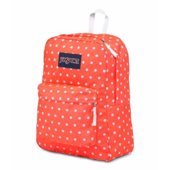 SuperBreak Backpack Tahitian Orange White Dots