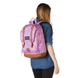 Cortlandt Laptop Backpack Pink Sparkle Dot