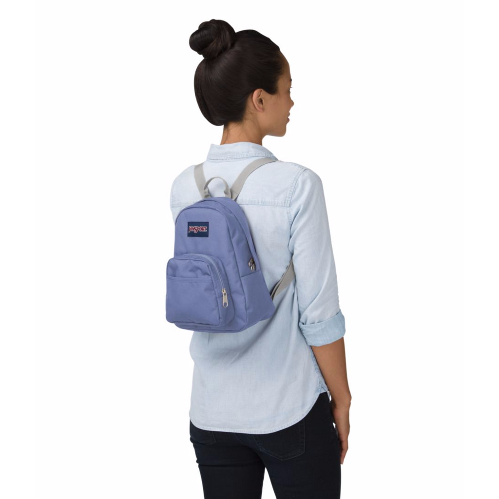 86ab31be8772 Jansport Half Pint Mini Backpack Bleached Denim – Laco Sac Boutique
