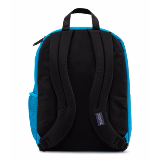 Big Student Backpack Blue Crest