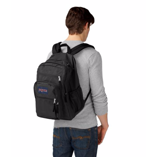 Big Student Backpack Forge Grey