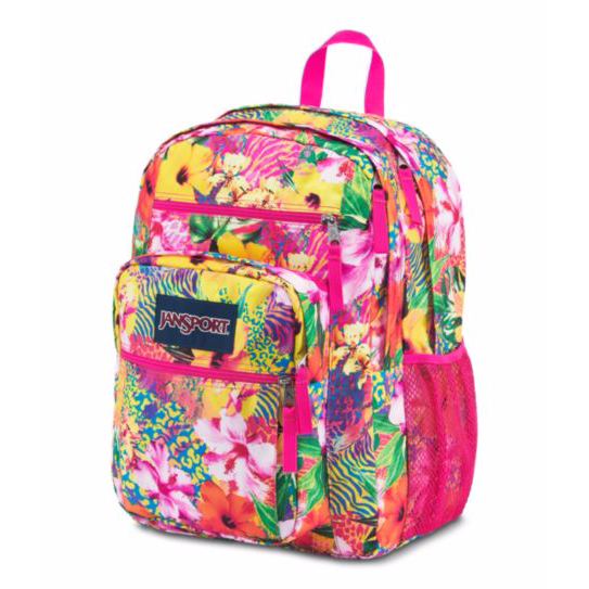 Big Student Backpack Tropical Mania