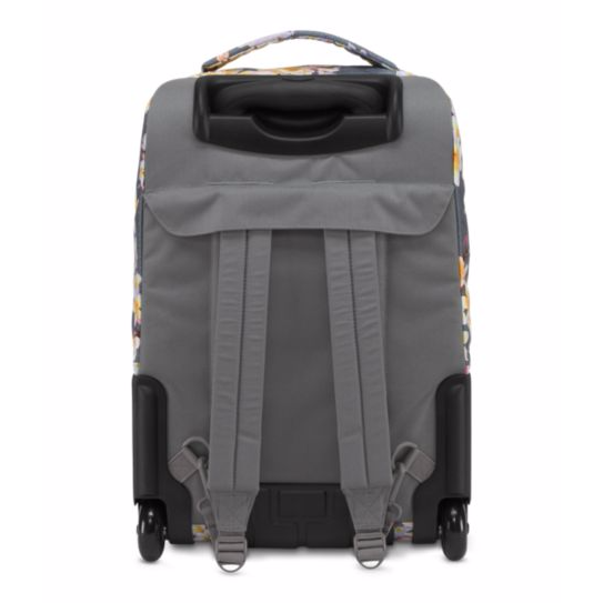 Wheeled SuperBreak Rolling Backpack Diamond Plumeria