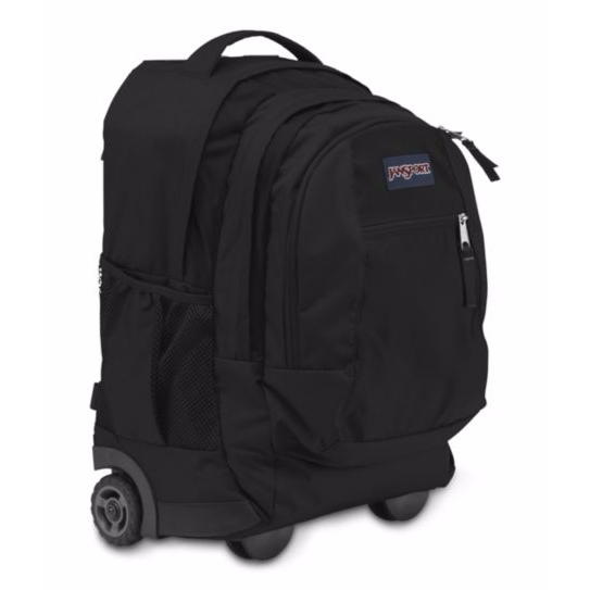 Driver 8 Rolling Backpack Black
