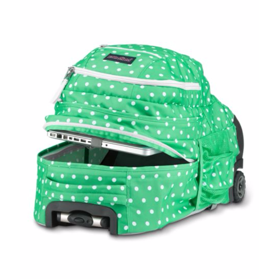 Driver 8 Rolling Backpack Coral Sparkle Pretty Posey
