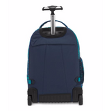 Driver 8 Rolling Backpack Tribal Wave Tonal