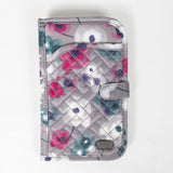 Tandem Passport Wallet Brushed Pearl Water Colour Floral