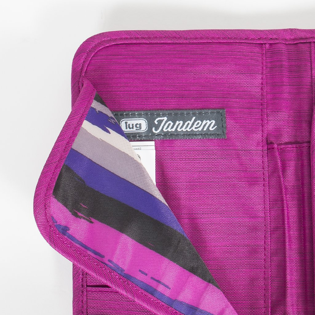 Tandem Passport Wallet Brushed Orchid