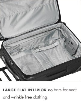 Baseline Domestic Expandable Upright Two Wheel Carry On 22""