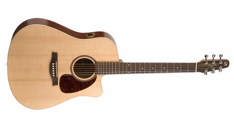 Seagull Coastline S6 Slim CW Spruce QI With Hard Case