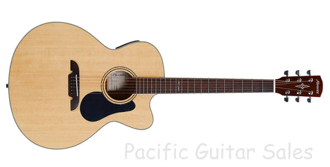 Alvarez AJ80CE Jumbo Acoustic / Electric CW With Alvarez Hard Case