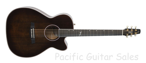 Seagull Artist Mosaic CH CW GT BourbonBurst EQ Solid Wood With TRIC Case