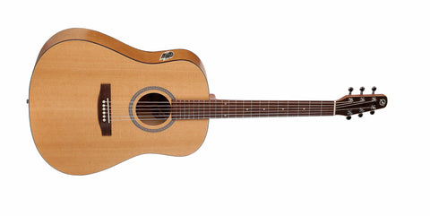 Seagull S6 Cedar Slim QI Acoustic/Electric With SKB Hard Case
