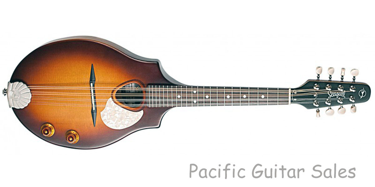 Seagull S8 EQ Acoustic Electric Mandolin With Padded Bag