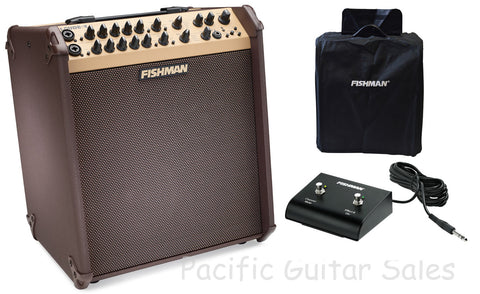 Fishman Loudbox Performer Bluetooth 180W Acoustic Amp With Slip Cover & Footswitch