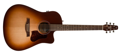 Seagull Entourage Autumn Burst CW QIT Acoustic Electric Cutaway With Hard Case