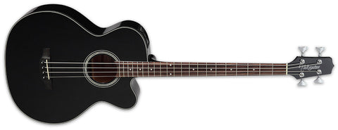 Takamine GB30CE BLK Acoustic/Electric Bass Plus Hard Case