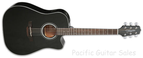 Takamine GD30CE BLK With SKB Hard Case