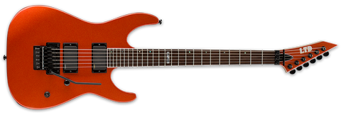 ESP LTD LM-400R Burnt Orange Metallic With SKB Case
