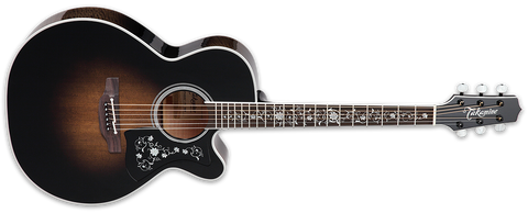 Takamine EF450C-TT TBB Trans Black Thermal Top NEX