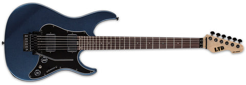 ESP LTD SN-1000FRR Gun Metal Blue Fluence With SKB Case
