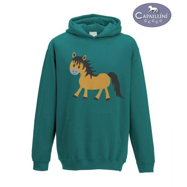 Cute Pony Hoodie-Capaillíní Equestrian Collection