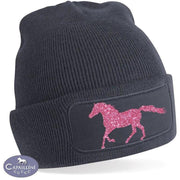 Glitter Horse Hat – Pink-Capaillíní Equestrian Collection