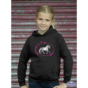Horse Girl Hoodie-Capaillíní Equestrian Collection