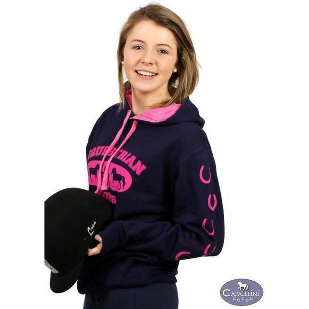 Horse Hoodie - Equestrian Sports Sweatshirt-Capaillíní Equestrian Collection