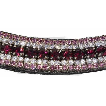 Mega Bling Browband - Amethyst-Capaillíní Equestrian Collection