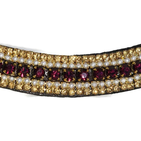 Mega Bling Browband - Baroque-Capaillíní Equestrian Collection