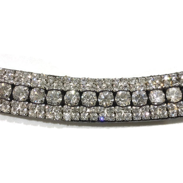 Mega Bling Browband - Crystal-Capaillíní Equestrian Collection