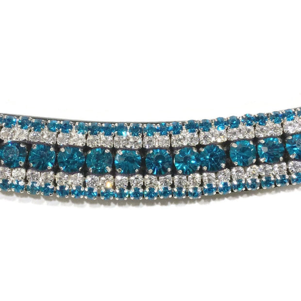 Mega Bling Browband - Jade-Capaillíní Equestrian Collection